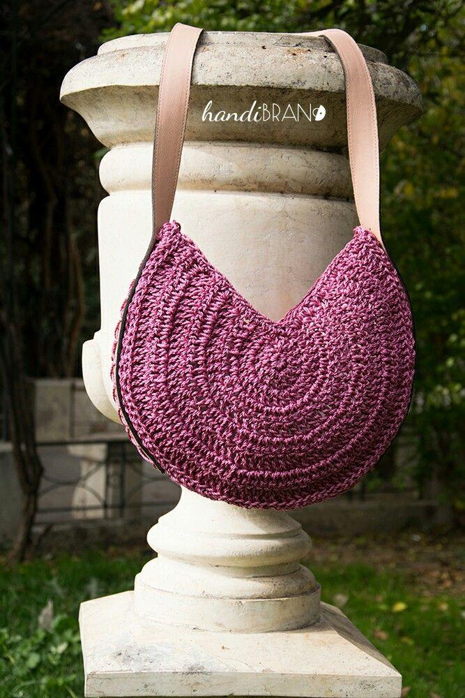Crochet round bag...handibrand.gr