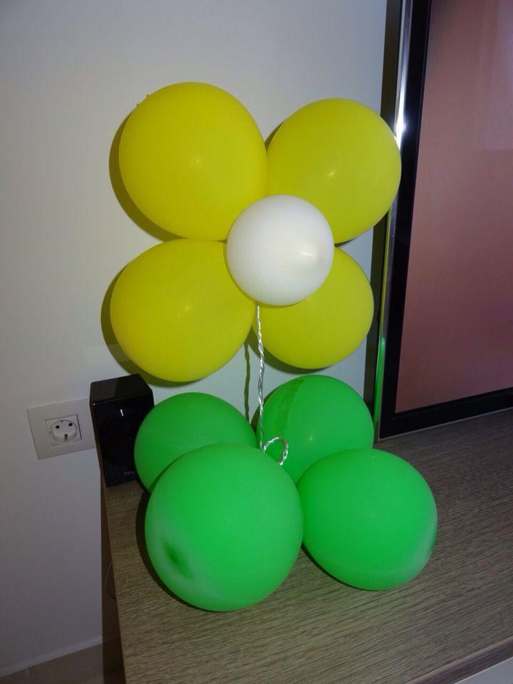 Λουλούδι από μπαλόνια 🎈🌼