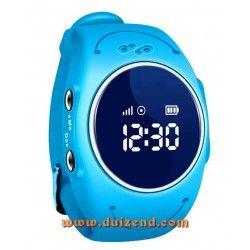 Waterdicht Gps horloge Blauw Gps en Wifi + configuratie + incl 10 euro KPN + incl 8,60 aangetekende verzendkosten !