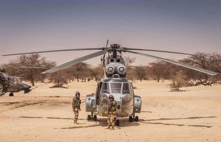 du 1er régiment d'hélicoptères de combat (1er RHC) de Phalsbourg (Moselle) ont été positionnés le 27 juin 2013 à Gao (Mali) pour relever deux autres aéronefs