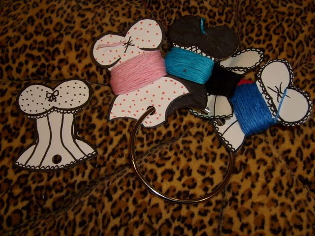 """""""Unmentionable"""" Embroidery Thread Bobbins - Now with templates - pg. 5 - NEEDLEWORK"""