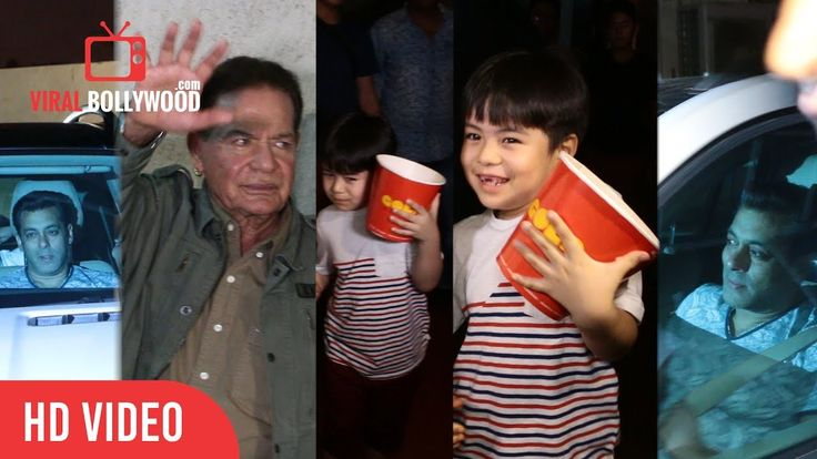 #Tubelight Special Screening With #MatinReyTangu, Salman Khan, #SalimKhan