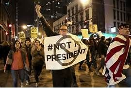 Not my president:' Trump denounced in protests across US - Latest ...