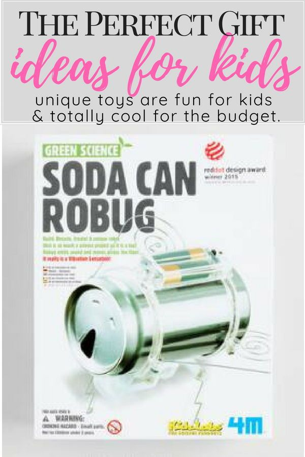 This Exciting Project Is A Fun Way For Young Scientists To Learn About Recycling Gift Ideas Kids Boys Christmas