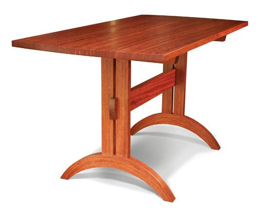 Shaker Trestle Table - Woodworking Projects - American Woodworker...