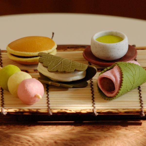 tea ceremony eraser set