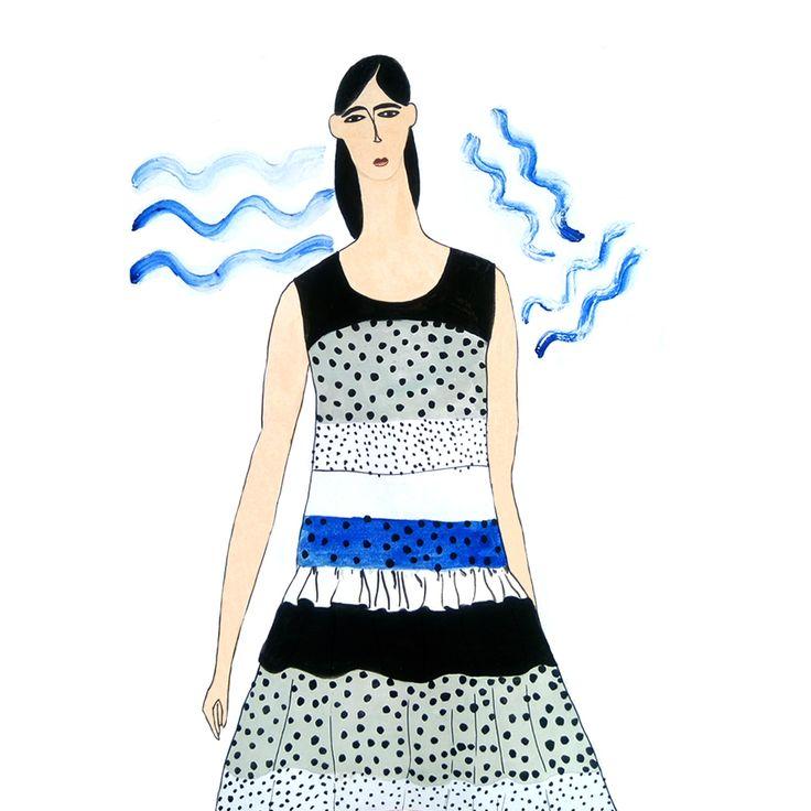 100 Girls Painting Series: Girl No. 35 – Aisyah Amiru