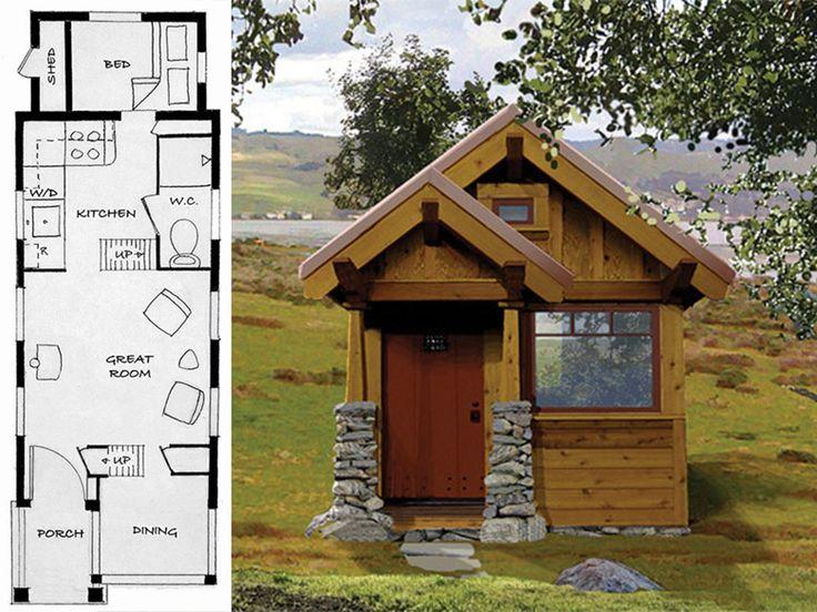 27 Adorable Free Tiny House Floor Plans Tiny Homes