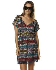 ROXY X PENDELTON BRISBY WOMENS COVERUP - EAGLE ROCK LILAC on http://www.surfstitch.com