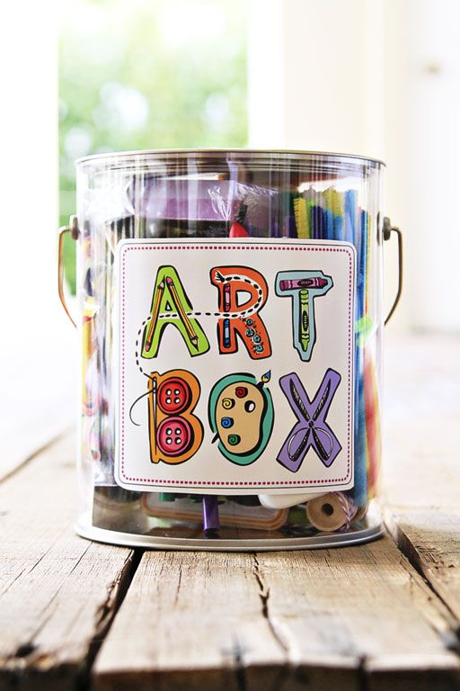 The Gift Of Art DIY Box And Free Artwork Download
