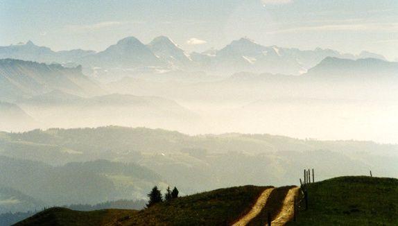 Eiger, Mönch, Jungfrau.