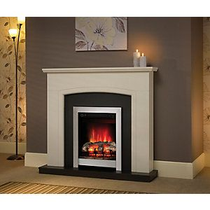 the 25 best electric fire suites ideas on pinterest. Black Bedroom Furniture Sets. Home Design Ideas
