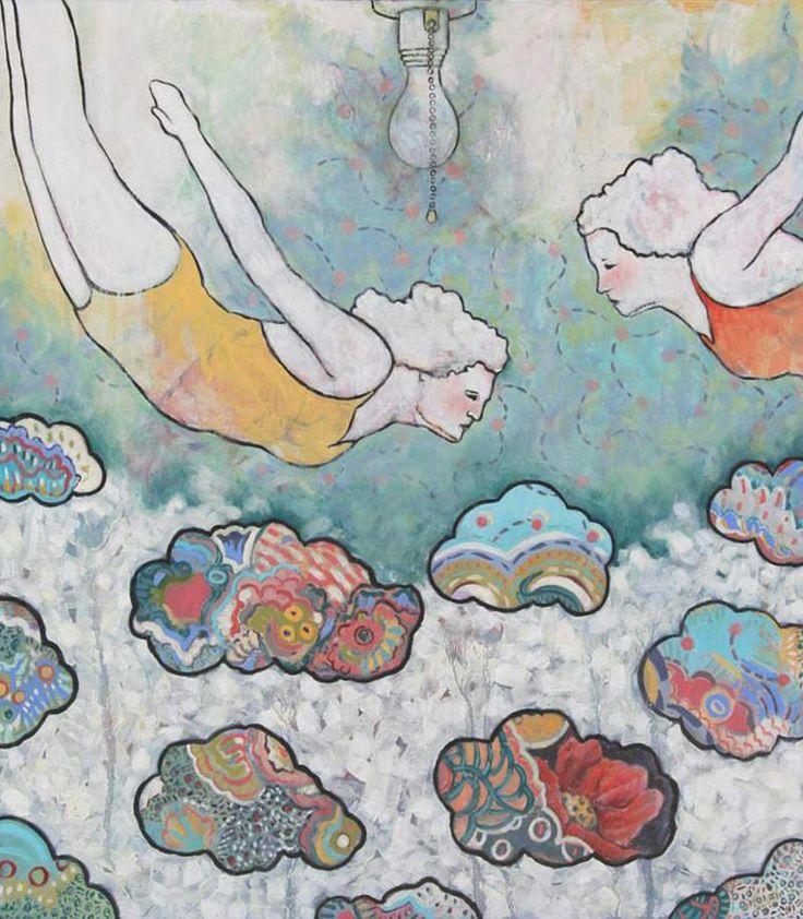 Paintings by Northwest Artist, Elizabeth Bruno