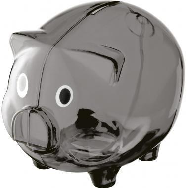 Black Transparent piggy bank :: Promotional Piggy Banks :: Promo-Brand :: Promotional Products l Promotional Items l Corporate Branding l Br...