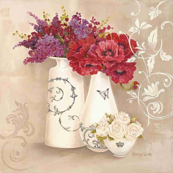 Botanic Flourish ~ Kathryn White