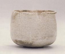 白楽茶碗 銘 白狐(びゃっこ) 本阿弥光悦 作