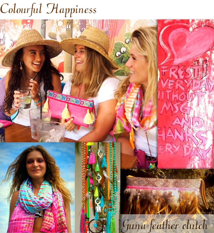Happiness!! #colorful ibiza scarves #Ibiza look #Ibiza jewels  www.indyibiza.com