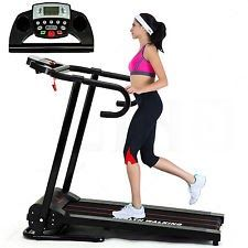 New 1100W Electric Motorized Treadmill Folding Running Gym Fitness Machine