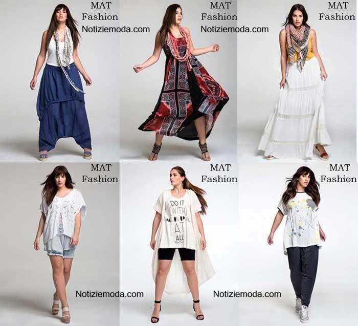 Curvy MAT Fashion primavera estate 2016 moda donna