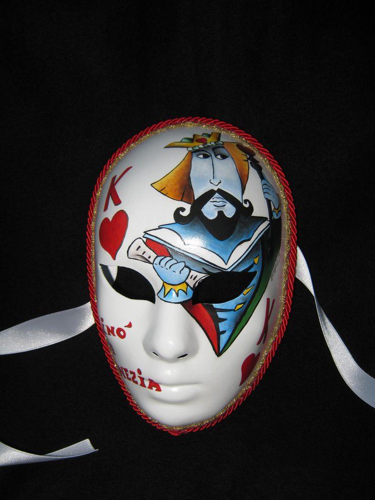 Venetian Artistic Mask dedicated to the Casinò of Venice. www.artjennifer.wordpress.com  #Venezia #Maschere #Venice #Masks #ArtisticMasks #VenetianMasks #Art #AcrilicPaintings #Carnival #JenniferEgista