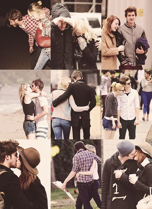 Emma Stone and Andrew Garfield. Emdrew Stonefield ♥ *credits to owner