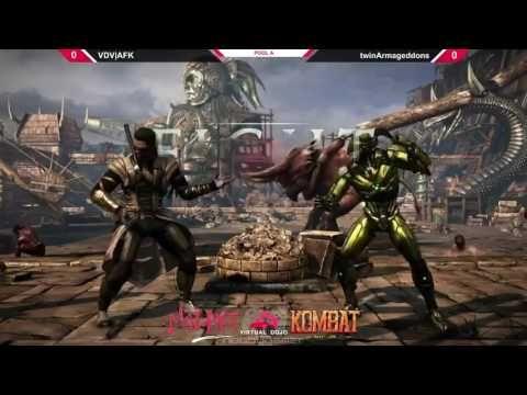 Mortal Kombat XL Mozart Combat Pools Matches