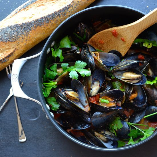 Make This Mussels Marinara Or Fra Diavolo…your Choice, Either Way, You'll Devour This And The Bread!  The Sauce Is Amazing! From Taste Love & Nourish