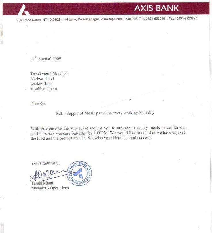 13 best Letter of Appreciation #Appreciation #hotelakshaya images - appreciation letter
