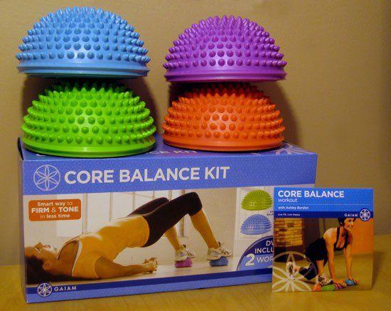 Gear Review: Gaiam Core Balance Kit