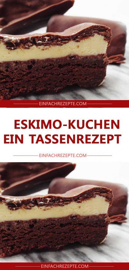Eskimo-Kuchen – ein Tassenrezept 😍 😍 😍