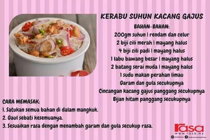 Kerabu Suun Food Malaysian Food Beef