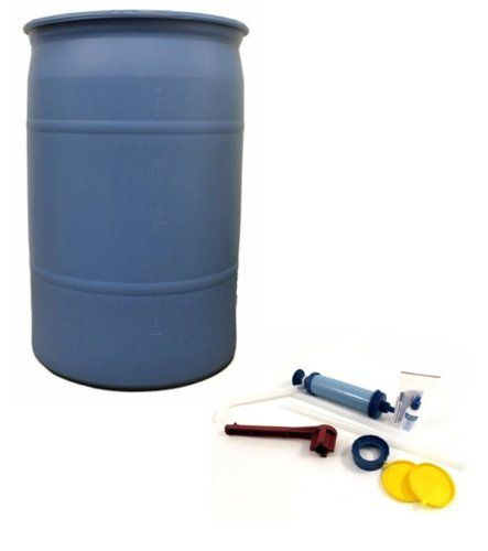 Mayday 55 Gallon Water Barrel PACKAGE W ACCESSORIES  WA133 -- Check out the image by visiting the link.