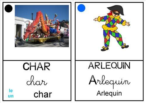 "Imagier ""Carnaval"""