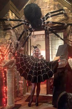 Halloween Party Spider Costume …