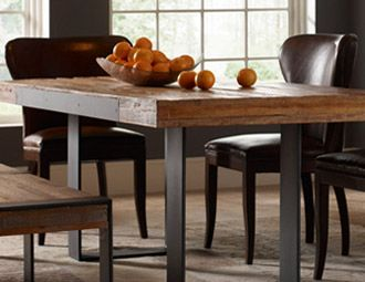 Prescott & Parker: Hands Furniture, Hands Dining, Bench Contemporary, Contemporary Dining Rooms, Reclaimed Table, Photo, Dining Room Breakfast, Dining Tables, Bina Furniture