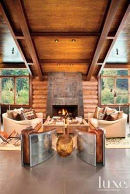 Chic Living Room Rustic Living Rooms Cozy Living Spaces Chic Living
