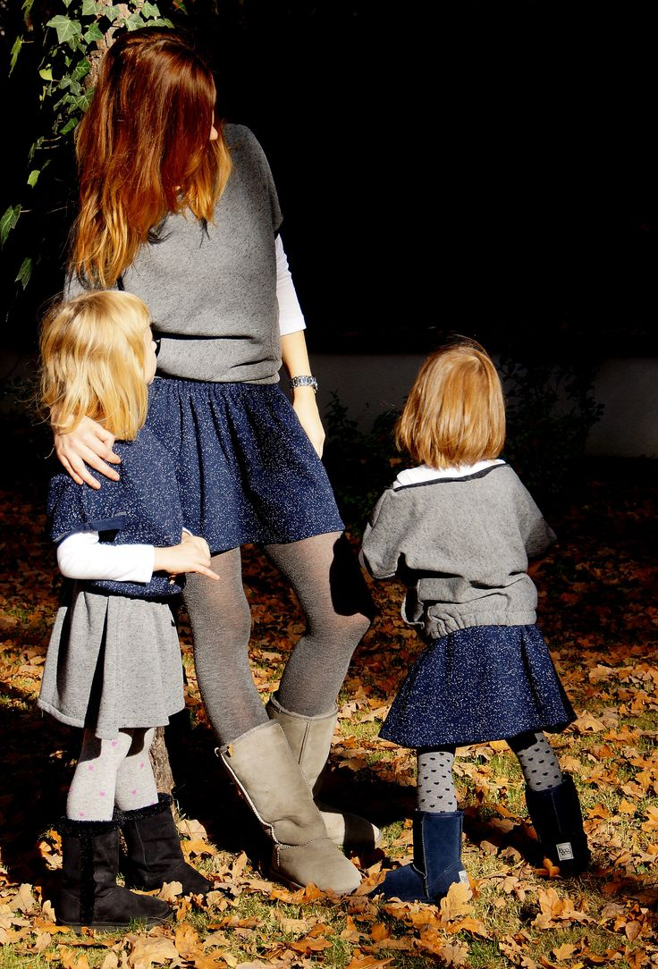 Girls power, sets for mums and daughters, autumn 2014, www.mumdaughter.com