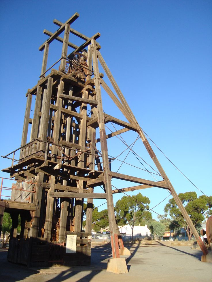 Broken Hill, Kintore Mine Head Frame. #BrokenHill