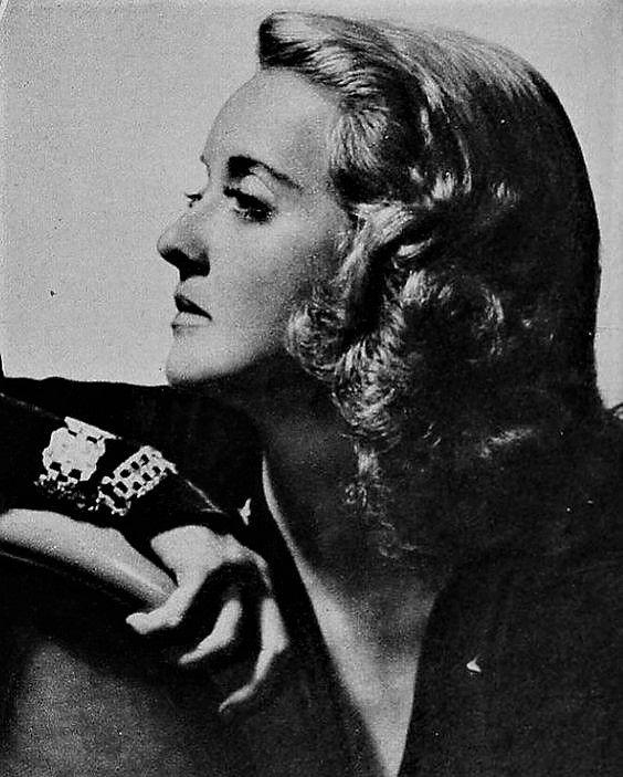 L for legend: Bette Davis