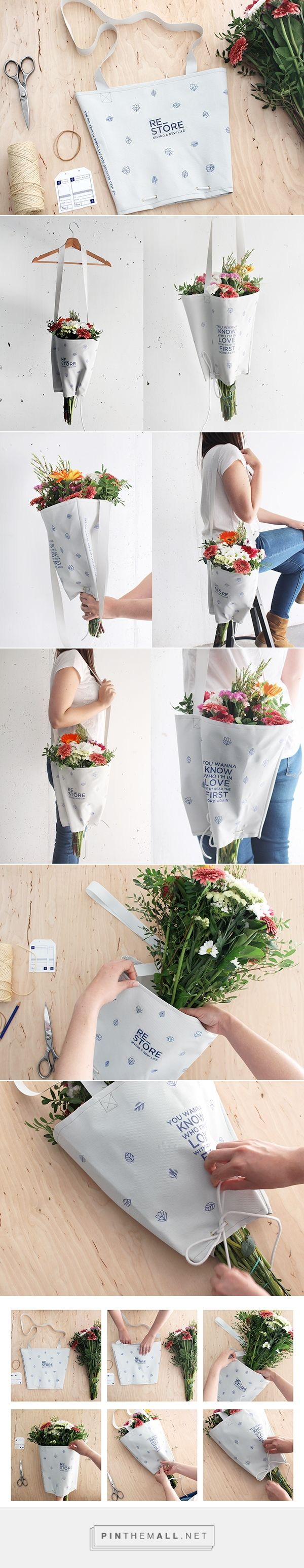 RE_STORE // Ecofriendly packaging design that reduces environmental impact.