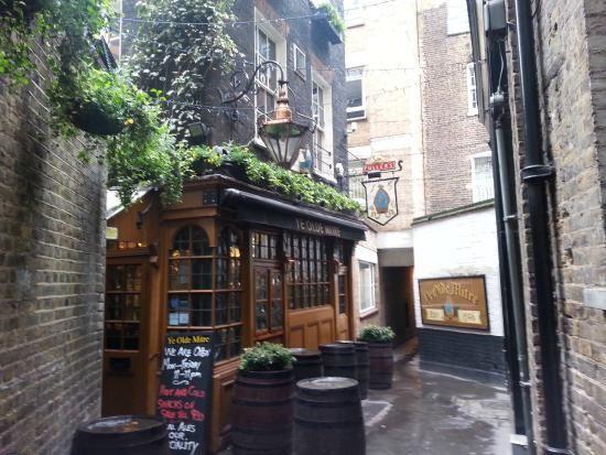 Ye Olde Mitre traditional pub, Holburn