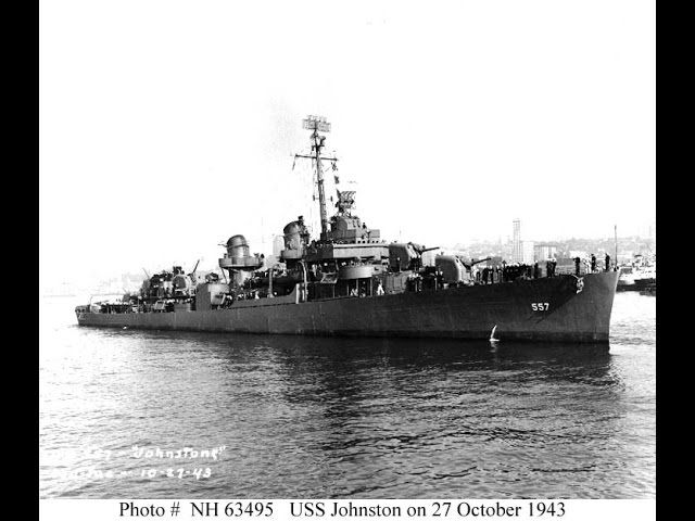 USS Johnston (DD-557) Video | Boats and Ships