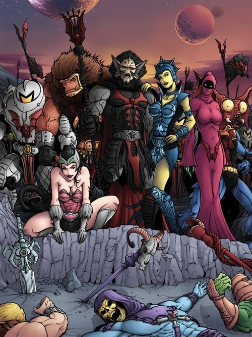 The Evil Hordes victory by Killersha // Masters of the Universe