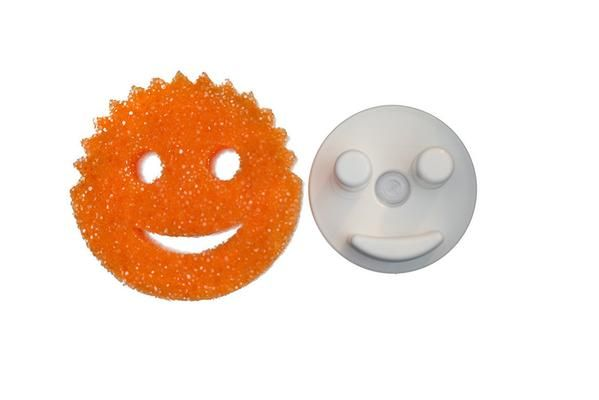 The Sponge Caddy with Suction Base for Kitchen Sink - Does NOT Include Sponge. This product is not affiliated with or licensed by Scrub Daddy, Inc. | Storage Theory