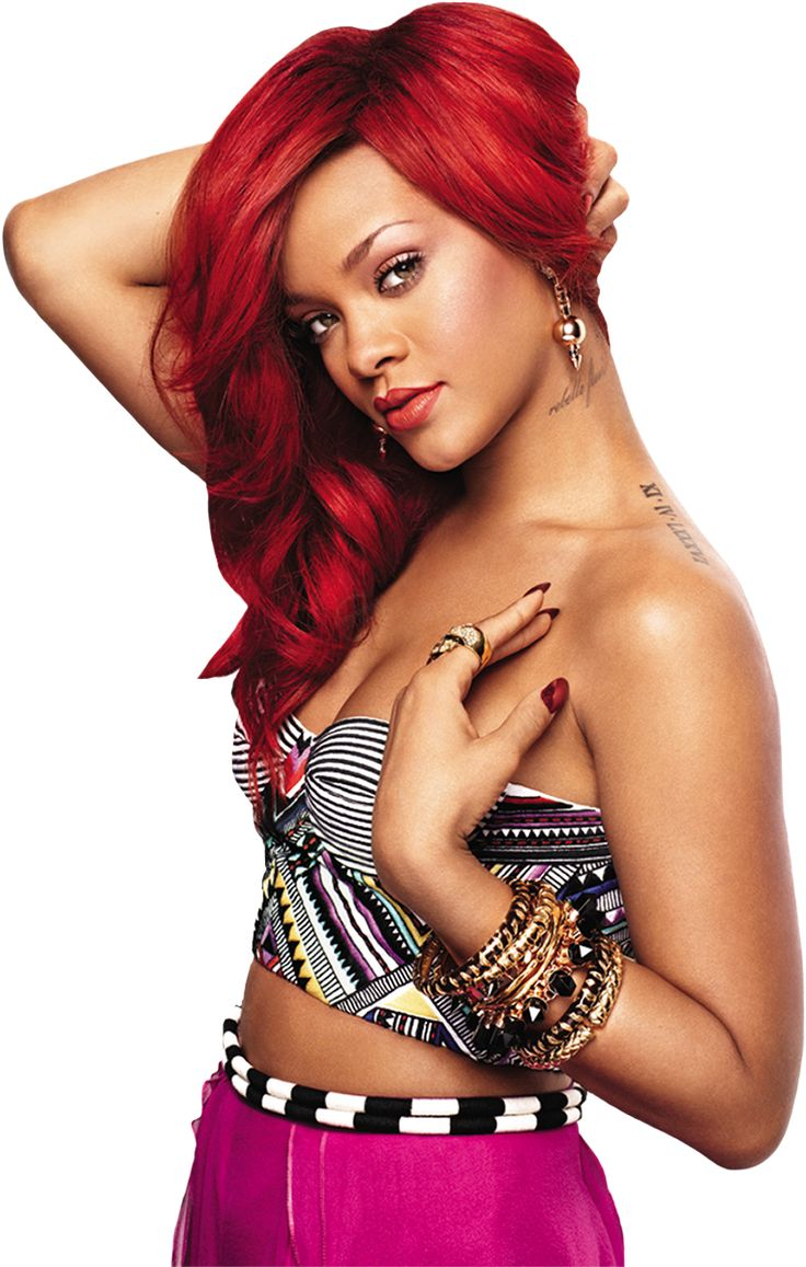 Rihanna Red Hair  Hair  Pinterest  Bond Girl, Red -7649
