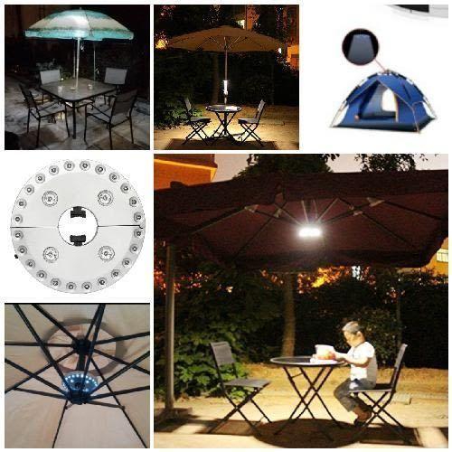Battery Operated Patio Outdoor Umbrella Light For Patio Umbrella Outdoor /Camping