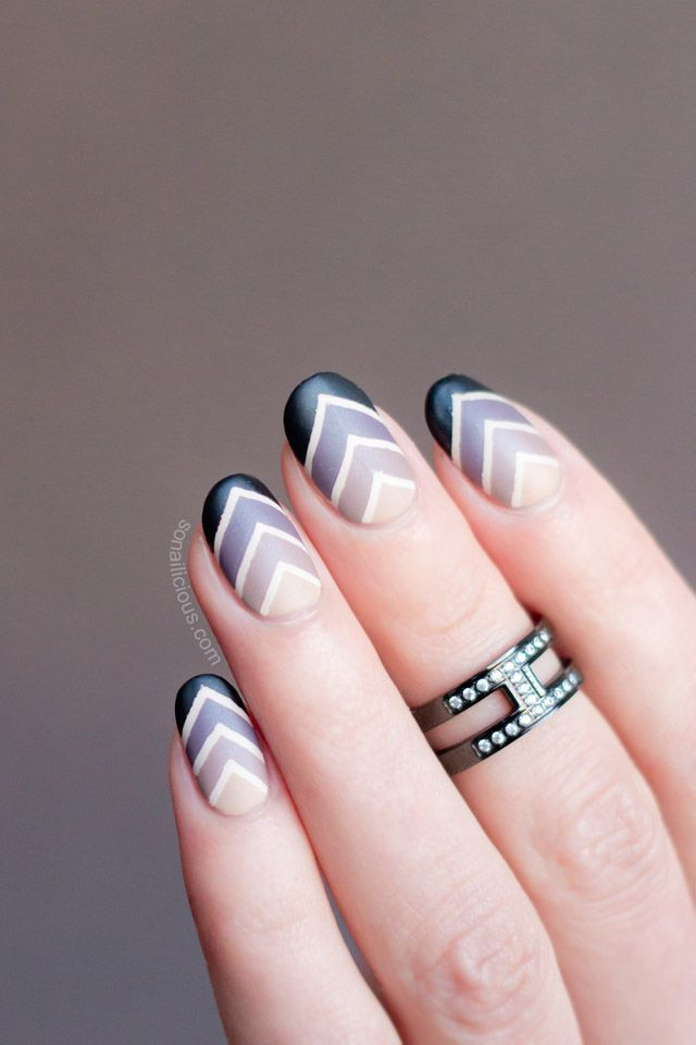 80 best Chevron Nails images on Pinterest | Chevron nails, Nail ...