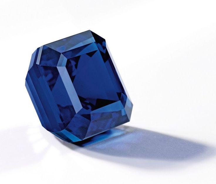 Jewel of Kashmir set a new record in price for a Kashmir Sapphire at auction. | via jewelsdujour.com