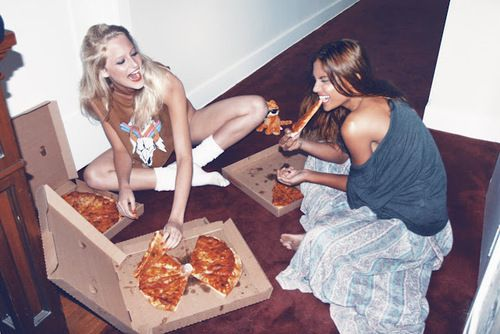Pizza Parties, Friends, Late Night, Black Hair, Lady Night, Girls Night, Summer Sweets, Pizza Night, Friday Night