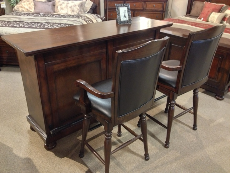 Porter 4 Piece #Bar Set At Ashley #Furniture In #TriCities #Richland #